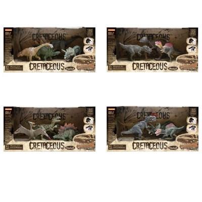도너랜드 백악기 공룡피규어 4종 4406