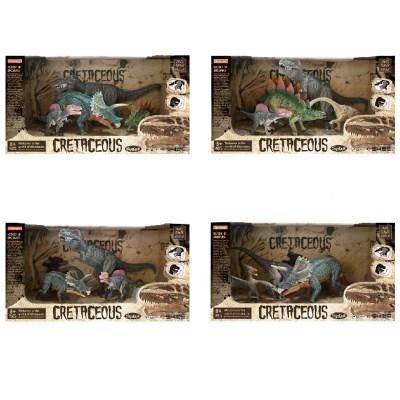 도너랜드 백악기 공룡피규어 4종 4402