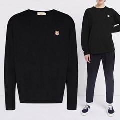 21FW 여성 폭스 롱슬리브 티셔츠 FU00163KJ0010 BK