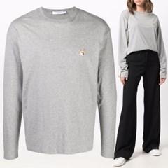 21FW 여성 폭스 롱슬리브 티셔츠 FU00163KJ0010 GRM