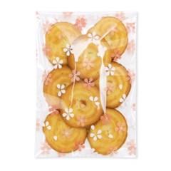 벚꽃 비닐봉투 대 (100개)