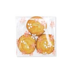 벚꽃 비닐봉투 소 (100개)