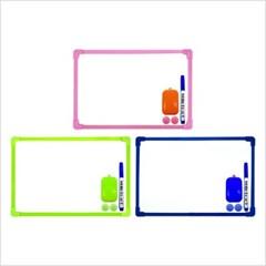 [블루마토] ABC 초경량 화이트보드 세트 (WBS008) (색상랜덤)