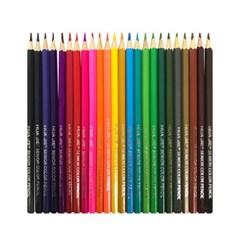[블루마토] 나무 색연필 24색 (CPS007)