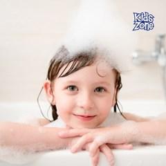 키즈존 폼바스 버블클렌저 1000ml 영국산 고급향 유아 거품목욕