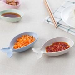 물고기 소스 반찬 접시 종지 트레이 접시 그릇