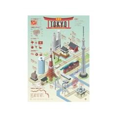 인포그래픽 포스터 - 도쿄