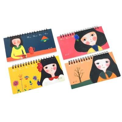 더오픈하우스 소녀 손그림 플래너 -23-3158