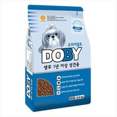 국산 강아지사료 도비 어덜트 4.5kg 비만견사료 개사료