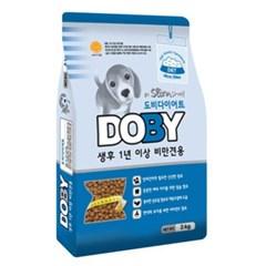 국산 강아지사료 도비 다이어트 3kg 비만견사료 개사료