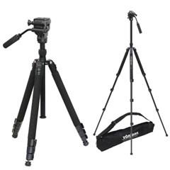 본젠 VT-347FX 프리미엄 카메라 삼각대 + VD-605 비디오 헤드 SET