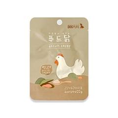 도그퓨어 푸드닭 강아지 닭고기 통살 애견간식 초록입홍합 1개입