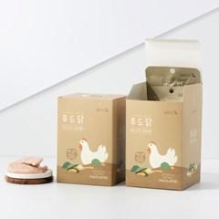 도그퓨어 푸드닭 강아지 닭고기 통살 애견간식 초록입홍합 10개입