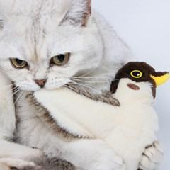 펫케어 춤추는새 참새 움직이는 고양이 캣닢 자동 장난감