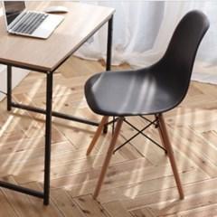 심플 유선형 의자