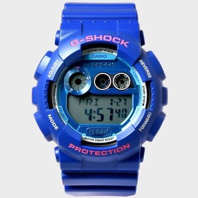 G-SHOCK 지샥 GD-120TS-2D 남성 우레탄 손목시계