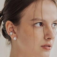 big pearl earcuff