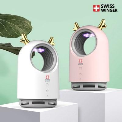 스위스윙거 사슴뿔LED모기포충기 SW-119 유인제 증정