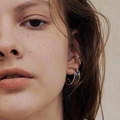 clear hoop earring