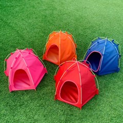강아지텐트 애견 고양이 야외 캠핑 집 pt-8215 폴드