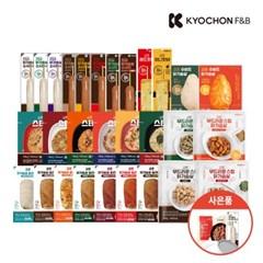 [교촌] 교촌 닭가슴살 전품목 1팩 골라담기