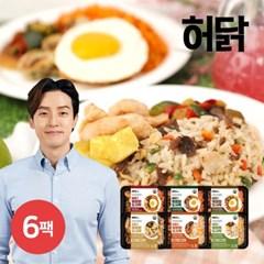 [허닭] 닭가슴살 볶음밥도시락 250g 6종 6팩