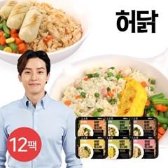 [허닭] 슬림도시락 220g 6종 12팩