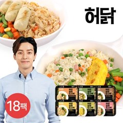 [허닭] 슬림도시락 220g 6종 18팩