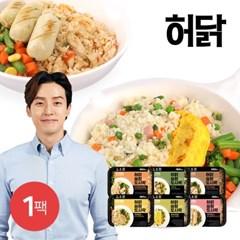 [허닭] 슬림도시락 220g 6종 1팩