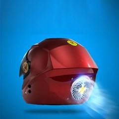태양열충전 블루투스탑재 내부열방출 오토바이헬멧