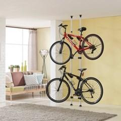 2단 자전거 세우는거 실내 스탠드 거치대 가정용 수납 보관소