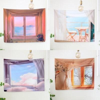 창문 패브릭 포스터 가리개 (14type)