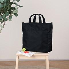 브리즈 기저귀가방 숄더백 크로스백 출산가방 - 블랙