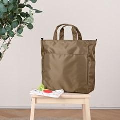 브리즈 기저귀가방 숄더백 크로스백 출산가방 - 올리브
