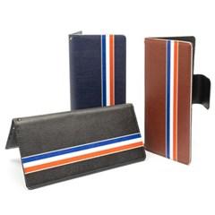 WK 갤럭시 라인 슬라이드 지갑 다이어리 핸드폰 케이스 가죽 카드