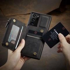 하푼 갤럭시S8 올인원 레더 카드 슬롯 포켓 케이스