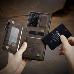 하푼 갤럭시S9 올인원 레더 카드 슬롯 포켓 케이스