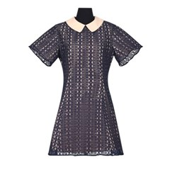 Dress 'Perforated flower'