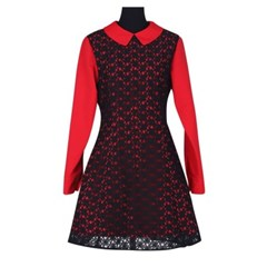 Dress 'Red and Black'