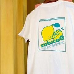 [수바코] 과일 반팔 티셔츠_레몬