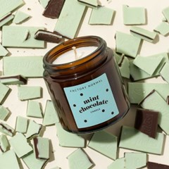 민초단을 위한 갈색병 소이캔들 / 민트초코 향 캔들