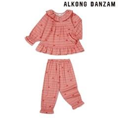 알콩단잠 여아잠옷 주니어실내복 레츠고 아동순면잠옷 초등 홈웨어