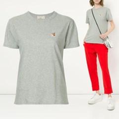 21FW 여성 폭스 패치 티셔츠 AW00103KJ0005 GRM