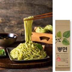 뽕잎으로 만든 국수면 국내산 우리밀 뽕면 300g