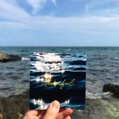 물빛 무드 엽서