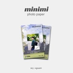 미니미 포토프린터 전용 인화지