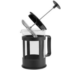 [안도] 홈카페 대용량 우유거품기 프렌치 프레스 커피메이커 800Ml