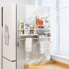 냉장고 자석 키친타올 선반 M
