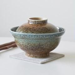 신로쿠 뚜껑 돈부리 텐동그릇