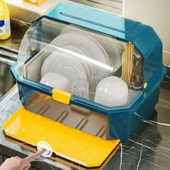 주방 씽크대 식기 설거지 그릇 컵 건조대 보관함 선반